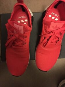 Nmd 1 red.  Size 10.5. Worn few times nego