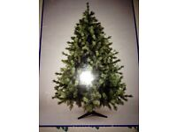 6ft excellent quality artificial Christmas tree
