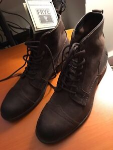 Frye Everett Lace Up Boot Men's 11.5 Brown