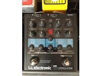 Tc electronic Nova Modulator guitar pedal