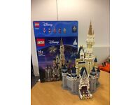 LEGO Disney Castle (built, includes manual and box)