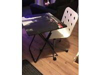 Desk & chair £20