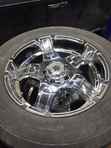 20 inch chrome mag for big truck West Island Greater Montréal image 1