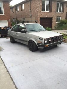 1990 Jetta coupe with 1996 1.9 AAZ diesel conversion as is