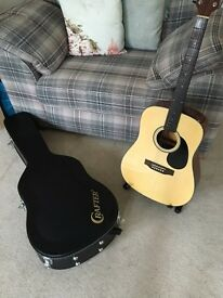 Crafter Silver Series 6 String Acoustic Guitar