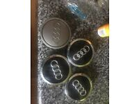 Audi centre caps genuine