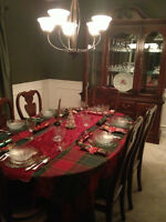 Beatiful Dining Room Set - $1200 obo