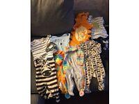 Bundles of boys clothing various sizes