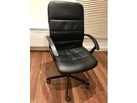 Ikea black TORKEL swivel chair