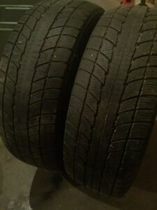 4  tires and rims for Honda Civic Kitchener / Waterloo Kitchener Area image 2