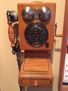 Crosley antique wall phone