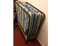 Folding single bed sale for Wellingborough £15