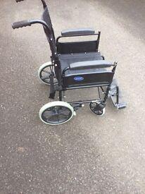 Invacare fold up wheelchair (Ben 9)