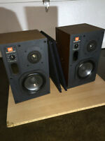 Passive JBL 4406 Studio monitors