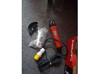110 hilti angle grinder brand new was £513 sell £200