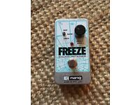 Electro-Harmonix Freeze Guitar Pedal