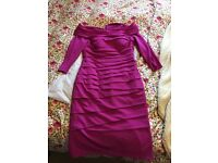 NEVER WORN 'off the shoulder dress' original price £419 selling for £195