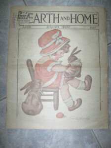 AN OLD APRIL 1921 ISSUE of HEARTH & HOME..[AUGUSTA ,,MAINE] Watc
