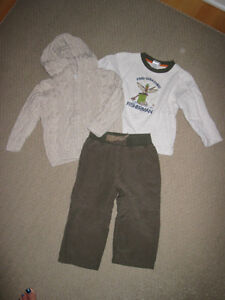 Gymboree Moose Lodge line - EUC minor washwear