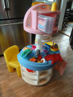 Little Tikes kitchen and doll high chair