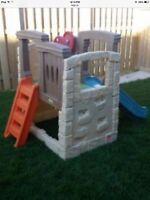 Step 2 climber with slide in excellent condition