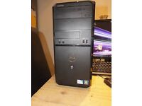 Excellent condition intel core 2 duo pc full system, Tower, flat screen, keyboard, mouse