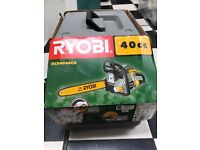 Ryobi 40cc unused chain saw