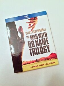 THE MAN WITH NO NAME TRILOGY BLU RAY SET CLINT EASTWOOD