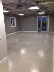 Concrete floors polished Windsor Region Ontario image 1
