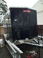 Stolen Cargo Craft Trailer - Photos Attached of Thief's Truck