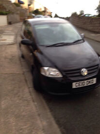 Vw fox 2010 1.2,owned from new!low miles 34k