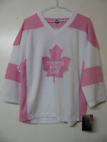 MONTREAL CANADIENS TORONTO MAPLE LEAFS FEMALE HOCKEY JERSEYS NEW