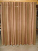 TWO VERY LARGE DRAPES