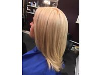 Highlights cut and blowdry £37.50