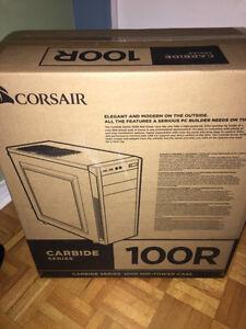 NOUVEAU case de pc (desktop) - Corsair 100r - Texter moi