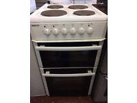 Electric Beko satin white cooker!