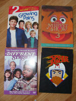Classic and newer TV shows on DVD - $8 each