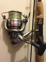 7' Rod and 2 Reels & Bed in a Bag/queen