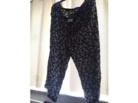 Ladies size 22 soft light summer trousers