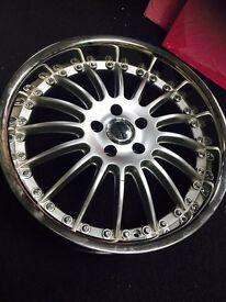 "VW caddy Mercedes e c s class 19 "" inch alloy Wheels"