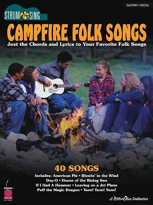 Campfire Folk Songs Sheet Music Easy Guitar NEW 002500686