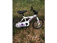 Girls bike age 4/5
