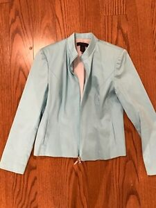 Turquoise/blue dress jacket, medium from The Limited