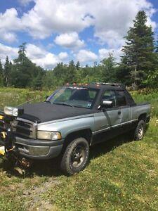 98 Dodge Ram plow truck