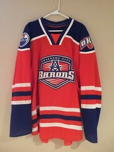 OKC Oil Barons Hockey Jersey
