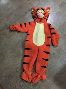 3-4T thick tiger Halloween costume.