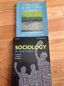 History Textbook Sociology Textbook Red Deer College
