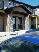 Beautiful 2 Bed /1 Bath Airdrie Townhouse/Condo from August
