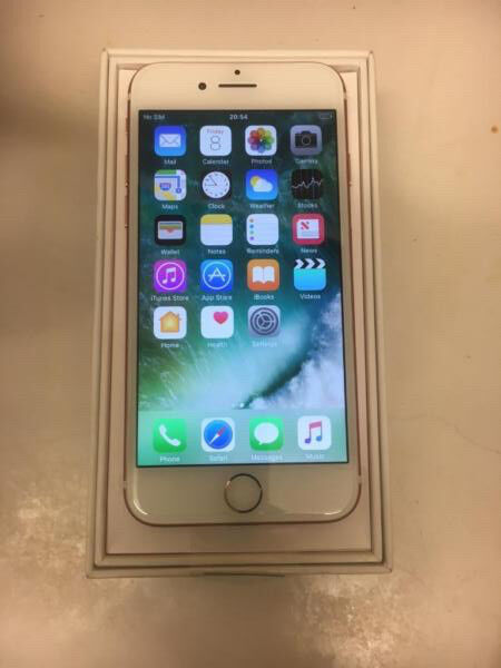 Brand new rose gold Iphone 7 unlocked 32gig