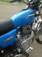 Restored 1979 KZ200 for sale